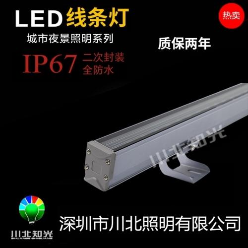 关于led线条灯的光源作用