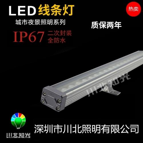 LED线条灯可展现特色建筑轮廊